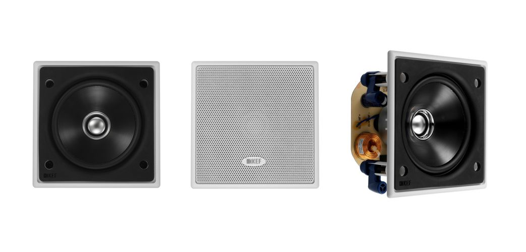 KEF Launches Super Compact Ci100QS Custom Install Speaker