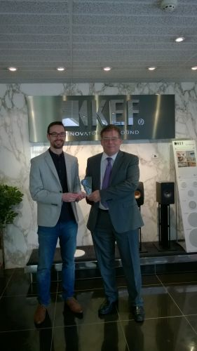 KEF Wins Award for Leadership in Introducing  Dolby Atmos to the Home