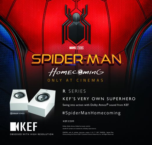 KEF Partners with Sony Pictures for Spider-Man: Homecoming promotion