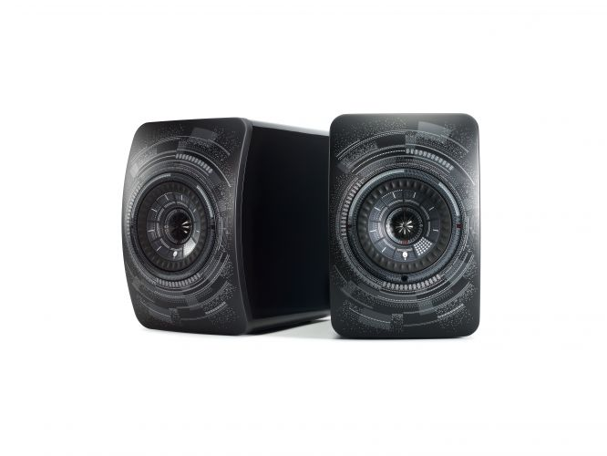 KEF introduces LS50 Wireless 'Nocturne' by Marcel Wanders