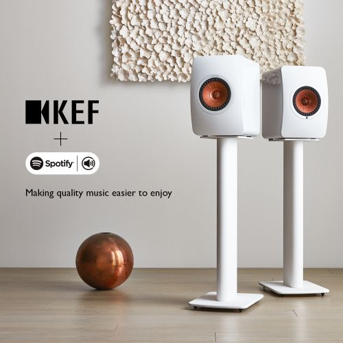 KEF brings Spotify Connect to KEF LS50 Wireless, making quality music easier to enjoy