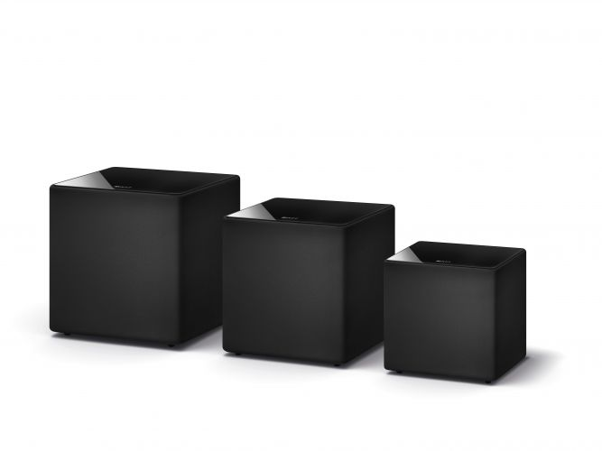 KEF Debuts All New Kube Subwoofer Range