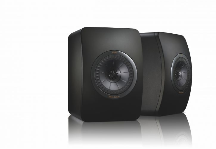 The legendary KEF LS50 - now in a special black edition