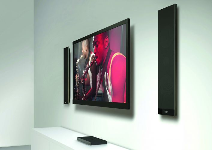 KEF Introduces V Series Digital TV Sound Systems